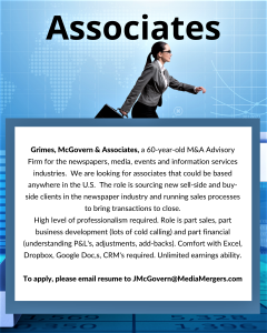 Associate Careers, Grimes, McGovern & Associates